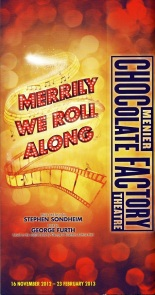 Merrily We Roll Along Menier Chocolate Factory Programme