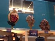 Vervoid, Davros & Silurian Masks